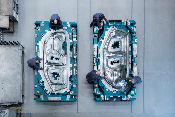 Audi Q4 e-tron på väg att ta form