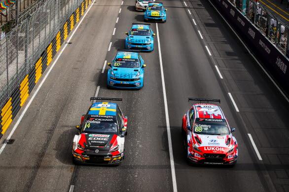 Johan gjorde bra starter i alla tre WTCR-racen i Macau. En stabil insats av värmlänningen.