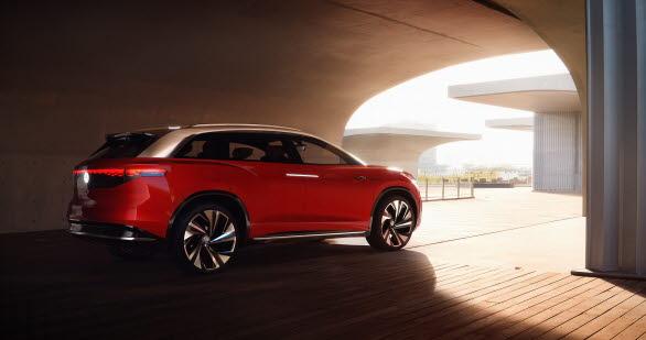 Världspremiär för eldrivna Volkswagen ID. ROOMZZ.