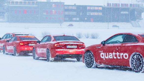 Audi quattro vinterkörning