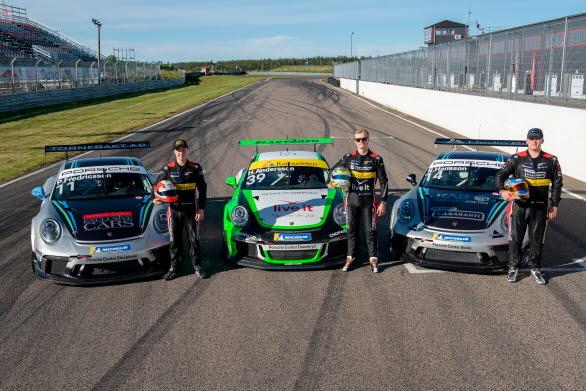 Porsche Carrera Cup Scandinavia ger tre unga förare från Driver Development Programme chansen att mäta sig mot tufft internationellt motstånd i Porsche Mobil 1 Supercup på Hockenheim.