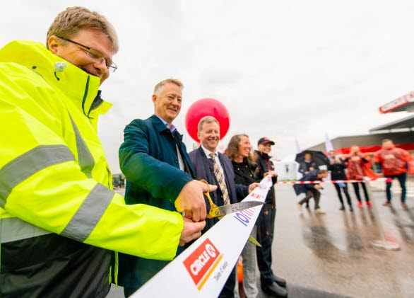 Invigning laddkorridor västkusten vid Circle K Strömstad. Foto Terje Borudd