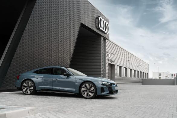 Elbilen Audi RS e-tron GT
