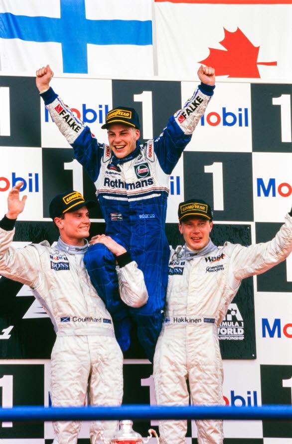 1997 Formula 1 world champion Jacques Villeneuve will be driving Porsche Sweden's guest car in Porsche Carrera Cup Scandinavia at the Gelleråsen Arena - as number 97. Photo: Motorsport Images