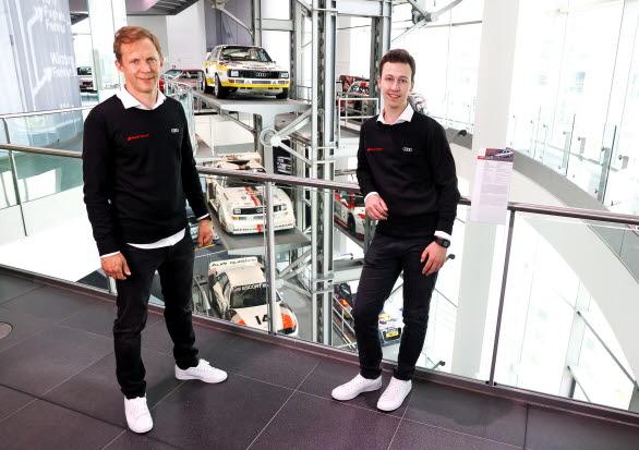 Erik Bergkvist och Mattias Ekström till Dakarrallyt