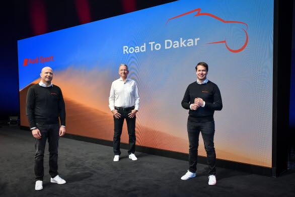 På väg mot Dakar: Andreas Roos, Sven Quandt, Julius Seebach