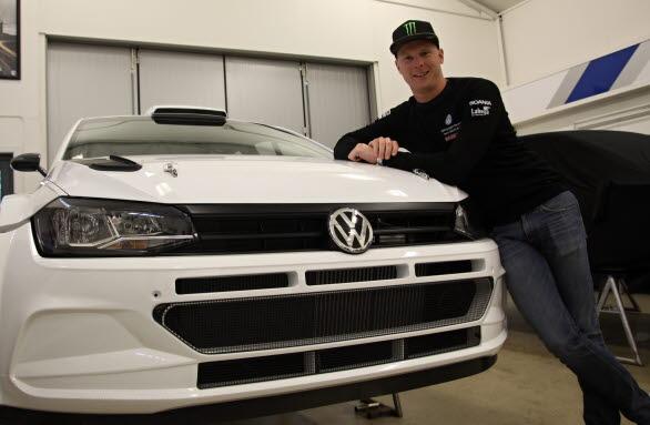 Det lutar åt en del rally framöver för Johan Kristoffersson, med en ny kompis i form av en Polo GTI R5.