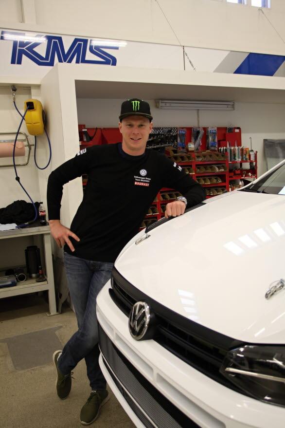 Mer rally ska det bli under vintern för Johan Kristoffersson, som precis har fått bekanta sig med teamets nya Volkswagen Polo GTI R5.