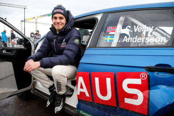 Ole Christian Veiby och co-drivern Jonas Andersson trivs bra i Volkswagen Dealerteam BAUHAUS och kommer att köra även VM-rallyt på Korsika i en Polo GTI R5.