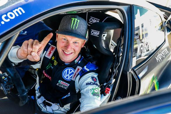 Det har blivit många segrar för Johan Kristoffersson bakom ratten i en Volkswagen.
