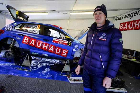 Johan har alltid haft ett nära samarbete med sitt team för att uppnå bästa resultat.