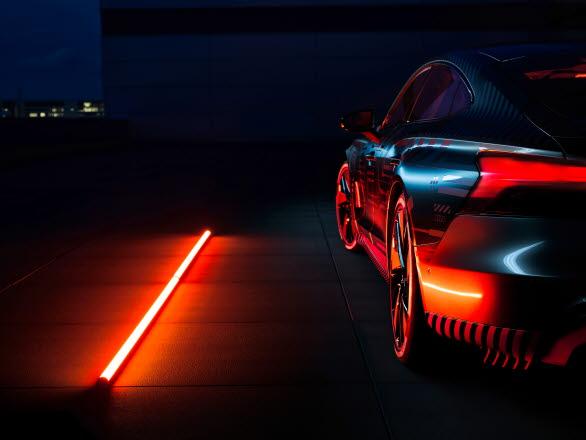 Audi e-tron GT med unikt e-sound