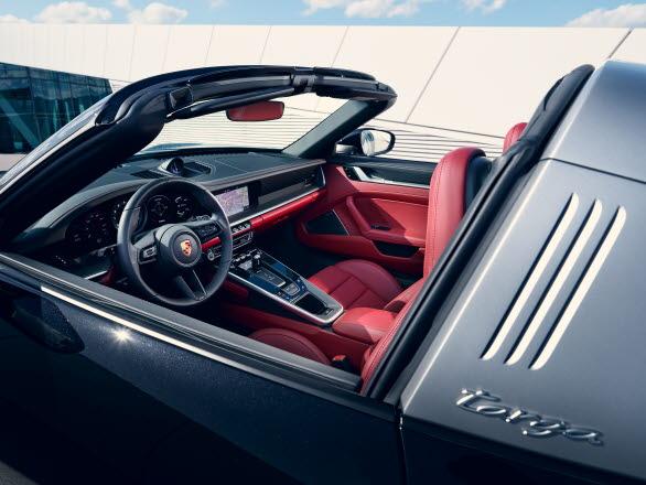 Nya Porsche 911 Targa 4S