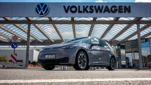 ID.3 tillverkas i elbilsfabriken i Zwickau.