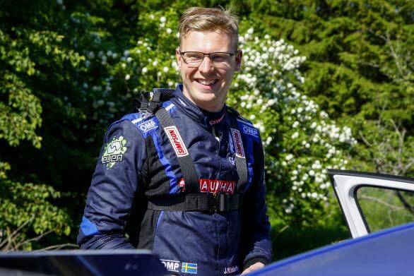 Johan Kristoffersson är på jakt efter sitt andra SM-guld i rally den här säsongen.