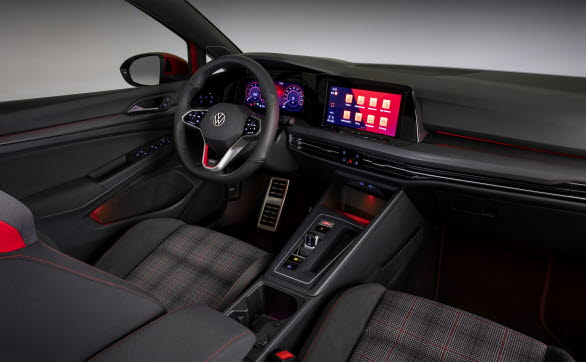 Digital Cockpit och bakgrundsbelysning med olika 30 färger.