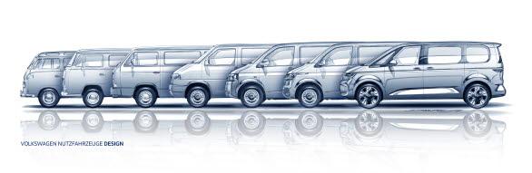 Den 7:e generationen av klassiska folkabussen! Har byggts som Multivan sedan generation 3