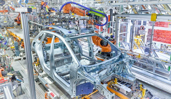 Produktionsstart för Audi Q4 e-tron i Zwickau