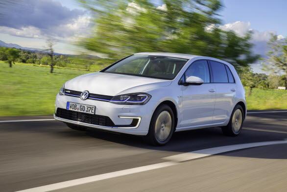 Leveranserna av elbilen e-Golf ökade med 45 procent.