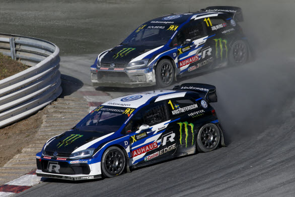 PSRX Volkswagen Sweden-killarna kommer att jobba ihop för att jaga Petters silver.
