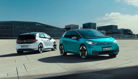 Volkswagens nya elbil ID.3 går nu att beställa.