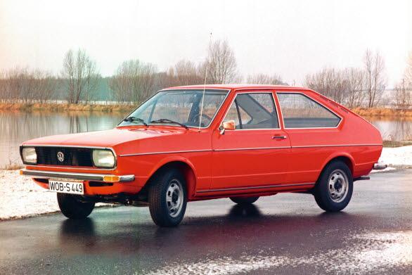 Första generationen Passat lanserades 1973.