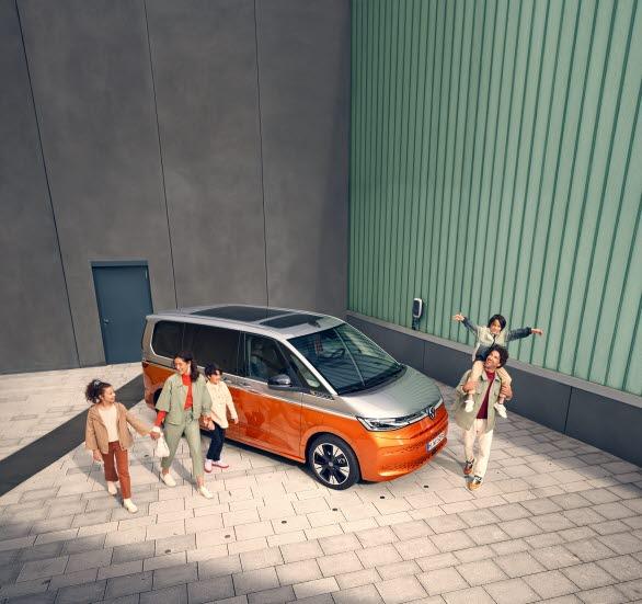 Idag, 29 oktober, öppnar säljsystemen för helt nya Multivan