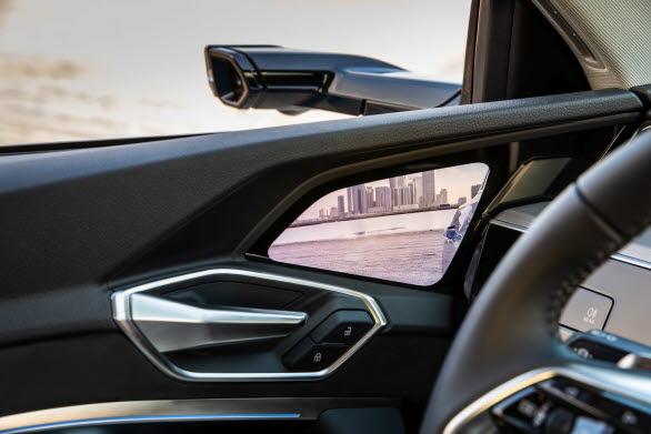 Audi virtuella sidobackspeglar
