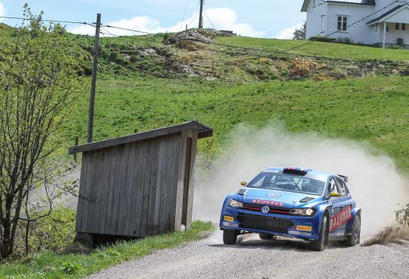 Johan Kristoffersson gjorde grusdebut i Rally Sörland. Nu väntar andra SM-deltävlingen, South Swedish Rally.