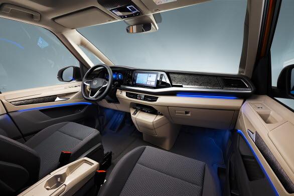 Det nya multifunktionsbordet kan bli en mittkonsol till föraren och passageraren fram