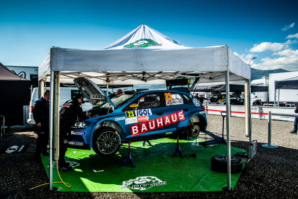 Volkswagen Dealerteam BAUHAUS är redo att lotsa Ole Christian Veiby mot nya framgångar, nu i VM-rallyt på Korsika.