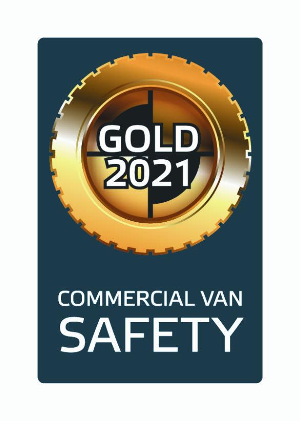 Guldmedalj för Transporter i Euro NCAP's test