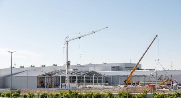Utbyggnad av produktionsanläggningen i Böllinger Höfe