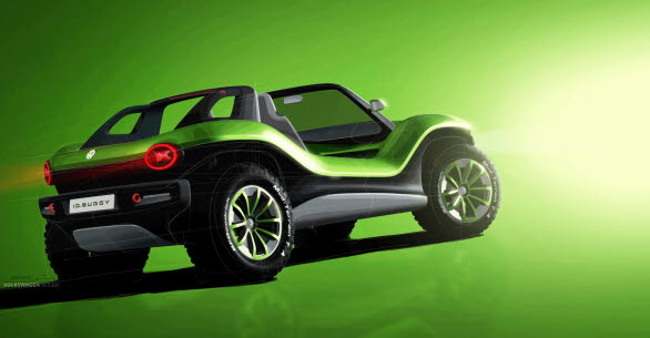 Konceptbilen är 406,3 cm lång, 189,0 cm bred och 146,3 cm hög. Hjulbasen mäter 265,0 cm.