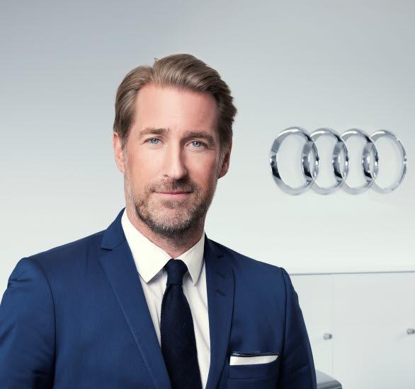 Jörgen Wedefelt, chef Audi Sverige
