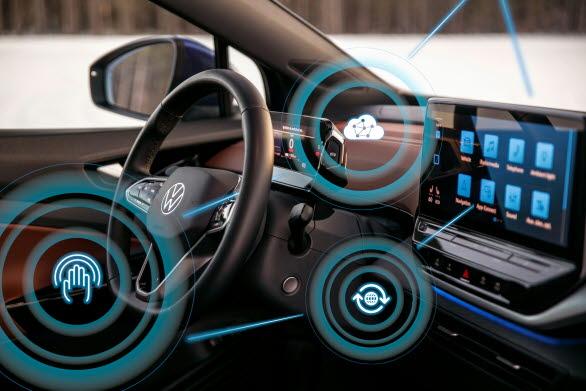 Mjukvaruppdateringar via nätet erbjuds nu till Volkswagens eldrivna ID.-modeller.
