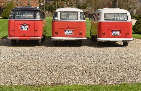 Motorn bak gav 30 hk (1954), 34 hk (1962) och 44 hk (1965)