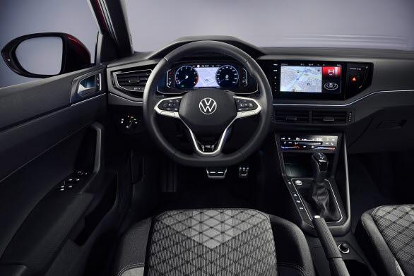 Digital Cockpit och den senaste generationen infotainmentsystem hör till standardutrustningen.
