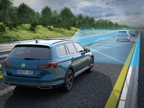 IQ.DRIVE är det nya samlingsnamnet för Volkswagens assistanssystem.