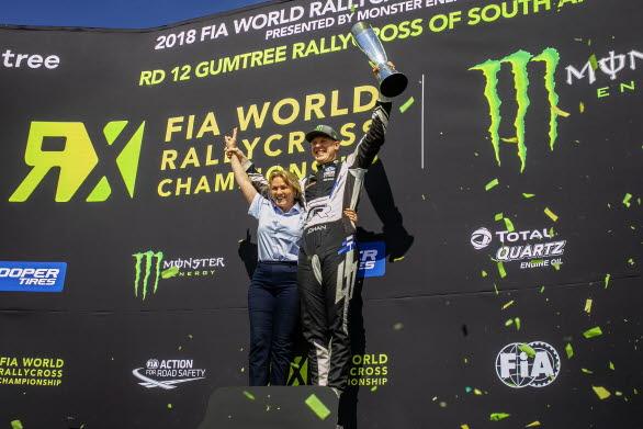 We are the champions. Igen. PSRX Volkswagen Sweden regerar i rallycross-VM för andra året i rad.