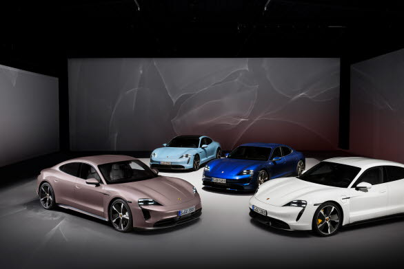 Porsche Taycan kompletterar modellserien som sedan tidigare består av Taycan Turbo S, Taycan Turbo och Taycan 4S.