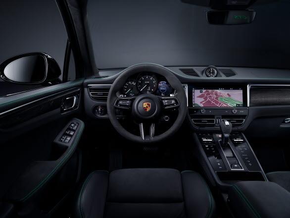 Interiören i nya Porsche Macan GTS