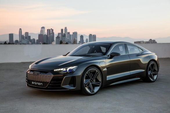 Audi e--tron GT concept