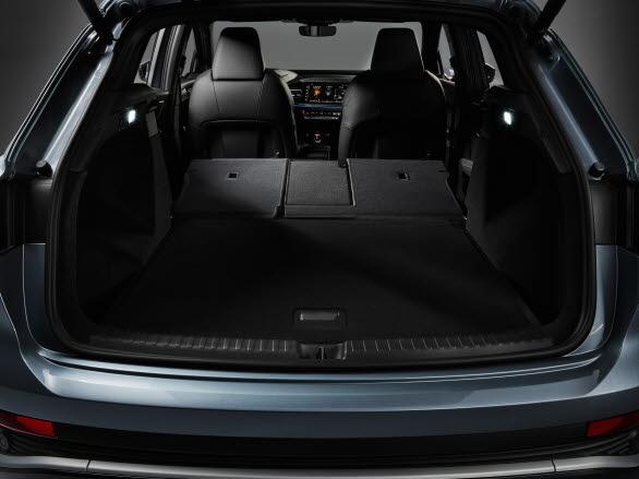 Bagageutrymme Audi Q4 e-tron