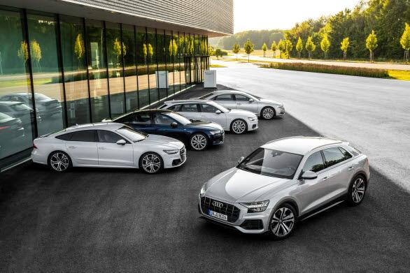 En ny generation Audi A8, A7, A6 och Q8