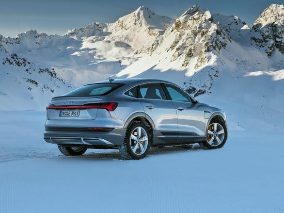 Sverigepremiär för Audi e-tron Sportback på eCarExpo