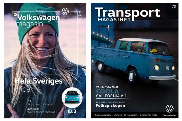 Volkswagen magasin och Transportmagasinet slås nu ihop.