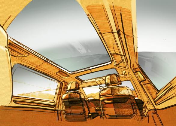 Nya Multivan får ett nytt mer flexibelt sätessystem