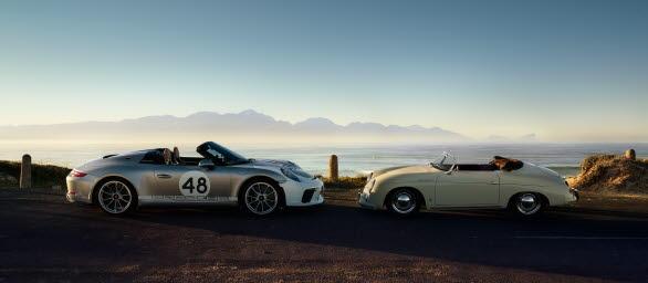 911 Speedster, Heritage Design-Package and 356 1500 Speedster