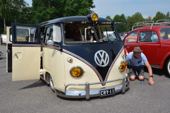 En äldre VW i fint skick är i dag värd mycket pengar. Bussarna står särskilt högt i kurs.